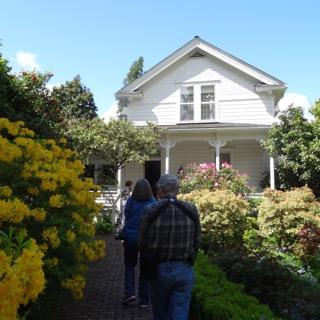 Hulda Klager 1889 Farmhouse