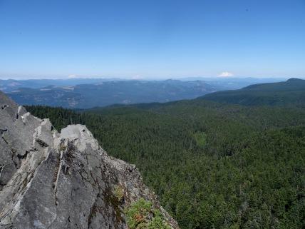 St. Helens, Rainier, Adams