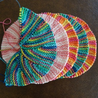 knitted tortillas