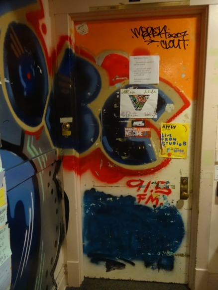 Door to the radio Station