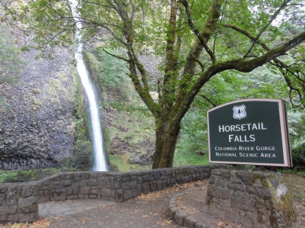 Horsetail Falls September 2013