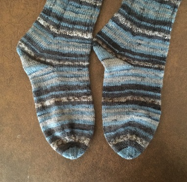The reknit toes