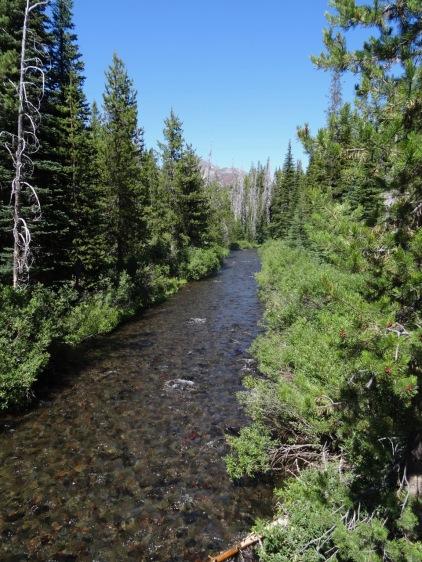 Fall Creek, Green Lakes trail
