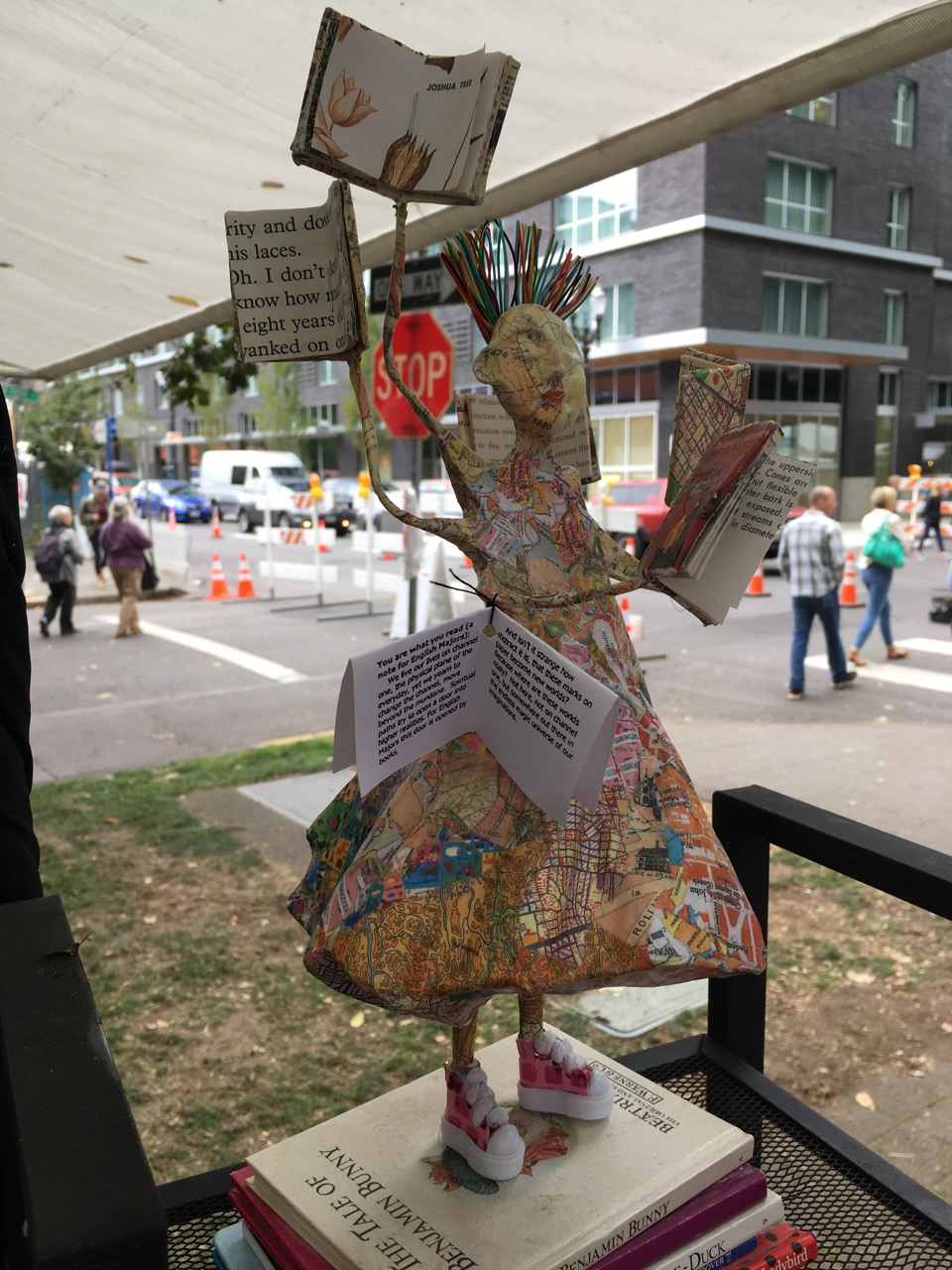 Kathy Ross, Art In The Pearl, 9/18