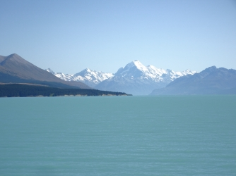 Aoraki Mt Cook, Lake Punakaki