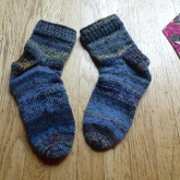 Artists Garden socks for my husband