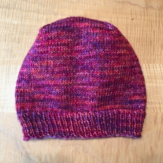 I finished a Scrappy Marl Hat for the guild project,